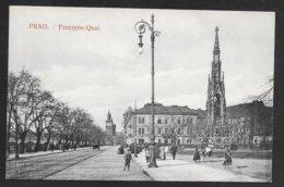 Czech - Prag / Praha - Franzens Quai - Unposted Early 1900's - Tchéquie