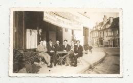 Photographie , Café De La Poste , Terrasse,110 X 70 Mm - Luoghi