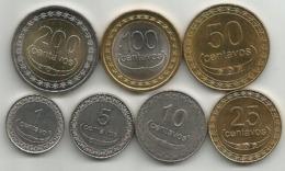 East Timor 2003/17. 1 - 5 - 10 - 25 - 50 -100 - 200 Centavos High Grade Set - Timor