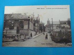 """51 ) Verzy - écoles Après Les Bombardement """" 1918 """"- EDIT - Thuillier - France"""