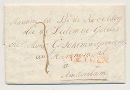 Noorthey Te Veur - Leiden - Amsterdam 1823 - Nederland