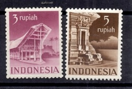 Indes Néerlandaises/Indonésie Autonome YT N° 363/364 Neufs *. B/TB. A Saisir! - Indes Néerlandaises