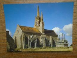 Tronoën , Chapelle Notre-dame De Tronoën , L'édifice Du XVe S. Et Le Calvaire , Le Plus Ancien De Toute La Bretagne - Saint-Jean-Trolimon
