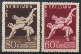 --- 1958 Bulgarie Y. 930 / 931** M. 1067 / 1068** - 1945-59 República Popular