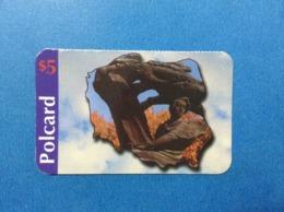 Carta Scheda Telefonica Prepagata Usata Stati Uniti USA Prepaid Card Used Polcard $ 5 - Vereinigte Staaten