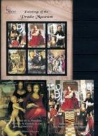 Grenada, Prado, 2000, 3 Sheets+ 3 S/s  Blocks - Kunst