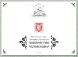 2019 Patrimoine Du Timbre 11 Blocs-feuillets Dont Le 1€ Vermillon ** MNH Envoi Soigné - Neufs