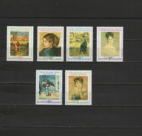 Bulgaria 1991 Paintings Paul Gauguin, Degas, Renoir Etc. Set Of 6 MNH - Arte