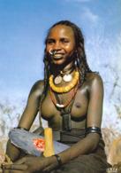 1 AK Tschad * République Du Tchad * Junge Frau - Tänzerin Aus Der Region Waddai - Akt Woman Nude * IRIS Karte Nr. 5446 * - Tsjaad