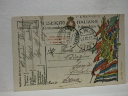 POSTA MILITARE  I  GUERRA  --- P.M.  N° 115 --  ALBANIA - Guerre 1914-18