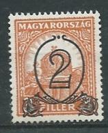 Hongrie - Yvert N°433 (*)   -   Ah 32001 - Unused Stamps