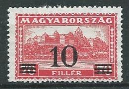 Hongrie - Yvert N°  461 (*)   -   Ah 32008 - Hongrie
