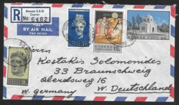 Cyprus - 1966 Registered Airmail Cover - Nicosia To Germany - Chypre (République)