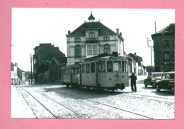 Photo  Wavre   Place  =  TRAM - Repro's