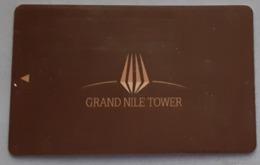 EGYPT - Hotel Key Card Grand Nile Tower - Cartes D'hotel
