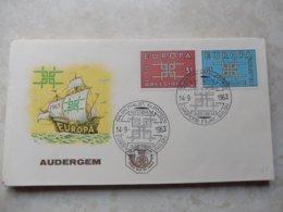 Fdc Belgique 1963 Numero 1260/61 Europa - 1961-70