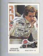GERHARD BERGER....PILOTA....AUTO..CAR....VOITURE....CORSE...FORMULA 1 UNO - Automobile - F1