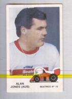 ALAN JONES......PILOTA....AUTO..CAR....VOITURE....CORSE...FORMULA 1 UNO - Automobile - F1