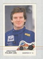 JONATHAN PALMER........PILOTA....AUTO..CAR....VOITURE....CORSE...FORMULA 1 UNO - Automobile - F1