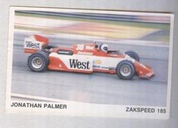 JONATHAN PALMER...PILOTA....AUTO..CAR....VOITURE....CORSE...FORMULA 1 UNO - Automobile - F1