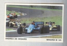 ANDREA DE CESARIS....PILOTA....AUTO..CAR....VOITURE....CORSE...FORMULA 1 UNO - Automobile - F1