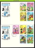 Nfe0702b WALT DISNEY PASEN KONIJN HAAS EASTER BUNNY RABBIT DOMINICA 1984 FDC's - Disney