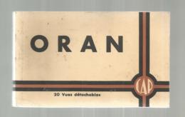 Cp, Algérie , ORAN , Ed. CAP , CARNET DE 20 CARTES POSTALES - Oran
