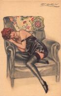 CPA Illustrée Signée MAUZAN - Mauzan, L.A.