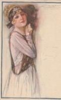 Femme Au Ruban. Coin Plié--  Scan - Mauzan, L.A.