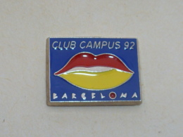 Pin's BARCELONA 92, CLUB CAMPUS A, Signe MARTINEAU - Cities