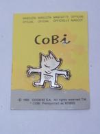 Pin's BARCELONA 92, COBI MASCOTTE OFFICIELLE A - Jeux Olympiques