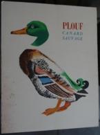 """Image """"albums Du Père Castor """" Le Roman Des Bêtes """"  - Plouf Canard Sauvage - Publicités"""