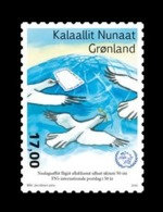 Greenland 2019 Mih. 832 World Post Day. Fauna. Birds. Pigeons MNH ** - Grönland