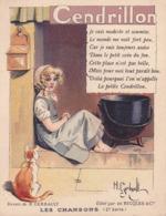 CHROMO - RICQLES - Illustrateur - H. GERBAULT - Cendrillon - Publicité - Vieux Papiers