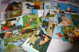 LOT DE 110 CARTES COUPLES ...AMOUR..TENDRESSE - Cartes Postales