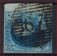 Medaillon 20 Cent Met Stempel P67 Van LAROCHE In Goede Staat Met 3 Randen En BLADBOORD ; Zie Ook Scan ! - Belgium
