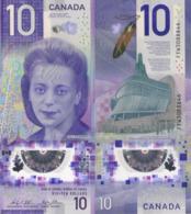 CANADA 50 DOLLAR 2017 P (New) Viola Desmond, Commemorarative Vertical Polymer, UNC - Canada