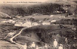 B58921 Cpa Route De St Claude à Septmoncel - Non Classés