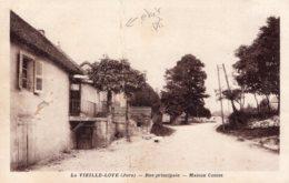 B58924 Cpa La Vieille Loye - Rue Principale, Maison Coutet - Non Classés