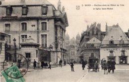 B58939 Cpa Dijon - Pavillon Droit De L' Hôtel De Ville - Unclassified