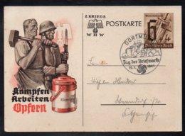 ALLEMAGNE - III REICH - DORTMUND /1941 - ENTIER POSTAL DE PROPAGANDE ILLUSTRE (ref 7580b) - Interi Postali