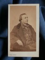 Photo CDV Pierre Petit à Paris - Second Empire, Homme Trois Quart Profil, Circa 1865 L472 - Photos