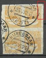 ESTLAND ESTONIA 1924 Michel 53 As 4-Block O Kuressaare NB! - Estland
