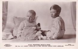H.R.H. PRINCESS MARY'S SONS - Royal Families