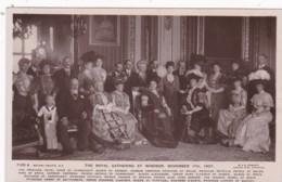 ROYAL GATHERING AT WINDSOR NOV 17TH, 1907 - Royal Families