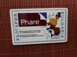 Phonecard Bulgaria Phare 07/2001 (Mint,Neuve) Only 20.000 EX  Rare - Bulgarie