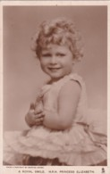 H.R.H PRINCESS ELIZABETH - Royal Families