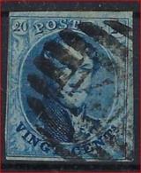Medaillon 20 Cent Met 8 - Barren Stempel P140 Van HERBESTAL Met 4 Randen En In Goede Staat ; Zie Ook Scan ! - Belgium