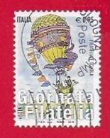 ITALIA REPUBBLICA USATO - 2015 - Giornata Della Filatelia - Filatelia E Scuola - € 0,95 - S. 3637 - 6. 1946-.. Republic