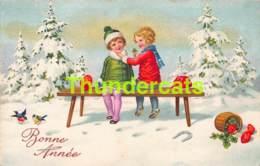 CPA ILLUSTRATEUR DESSIN ENFANT CHROMOLITHO CARD CHILDREN AMAG - Dessins D'enfants